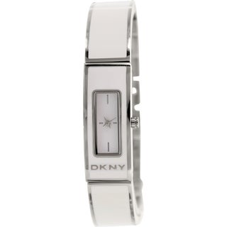 DKNY Women's NY8761 White Stainless Steel Quartz Watch