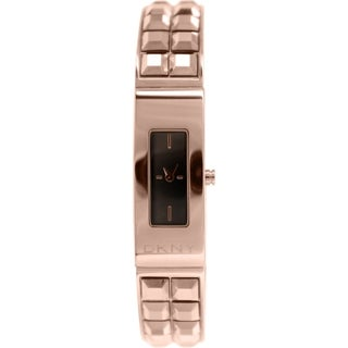 DKNY Women's Beekman NY2229 Rose Goldtone Stainless Steel Quartz Watch