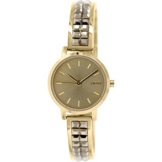 DKNY Women's Soho NY2278 Goldtone Stainless Steel Quartz Watch