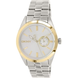 DKNY Men's NY1531 Silvertone Stainless Steel Analog Quartz Watch