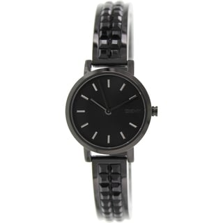 DKNY Women's NY2280 Black Ceramic Quartz Watch