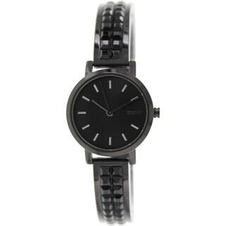 DKNY Women's NY2280 Black Ceramic Quartz Watch