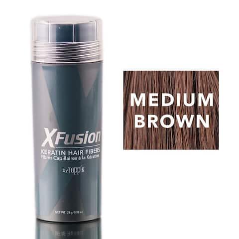 XFusion Medium Brown 0.98-ounce Keratin Fibers