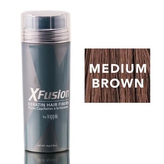 XFusion Medium Brown Keratin Fibers