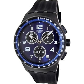 Swatch Men's Originals SUSB402 Blue Plastic Swiss Quartz Watch
