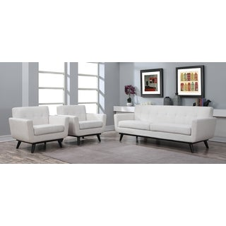 Calvin Beige Linen Living Room Set