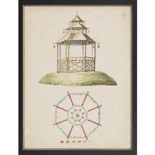 Garden Follies Pagoda Framed Art Print