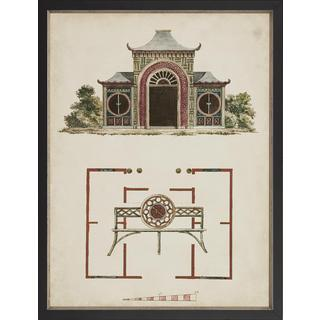 Garden Follies Framed Art Print