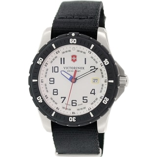 Victorinox Swiss Army Men's Maverick 241676.1 Black Nylon Swiss Quartz Watch