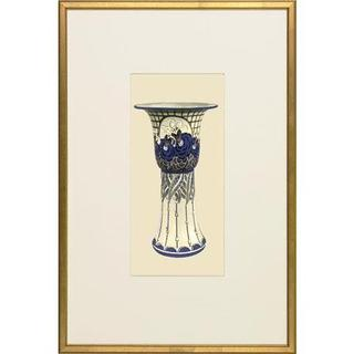 Embellished Art Nouveau Vases Framed Art Print