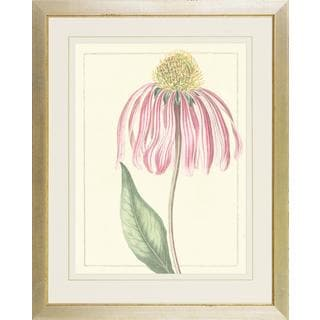 Pink Botanical Softness Framed Art Print