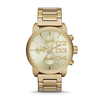 Diesel Women's Flare DZ5435 Goldtone Stainless Steel Quartz Watch