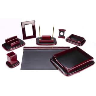 9-piece Mahagony Oak Wood Desk Set|https://ak1.ostkcdn.com/images/products/9762254/P16933615.jpg?impolicy=medium