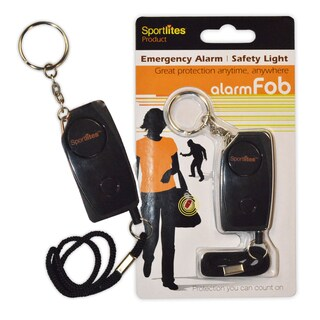 Sportlites Personal Security Piercing alarmFOB - Black