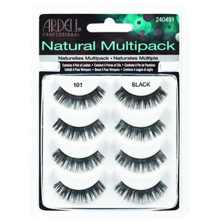 Ardell Natural Style 101 Black False Lashes (4 Pair)