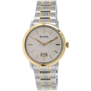 Bulova Men's 98B214 Stainless Steel Marine Star Chronograph Watch