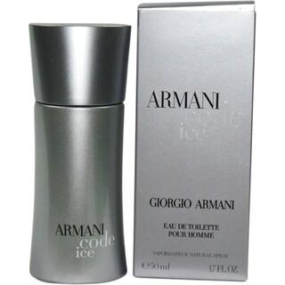 Armani Code Ice Men's 1.7-ounce Eau de Toilette Spray