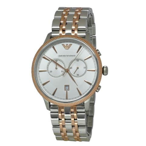 Emporio Armani Men's AR1826 Classic Two-tone Watch