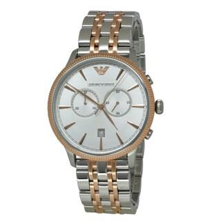 Emporio Armani Men's AR1826 Classic Two-tone Watch