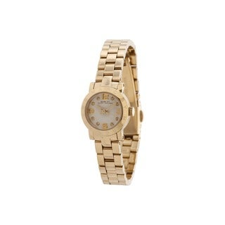 Marc Jacobs Women's MBM3226 Goldtone Watch