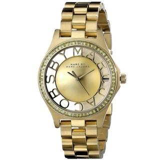 Marc Jacobs Women's MBM3338 Henry Skeleton Gold Watch
