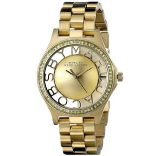 Marc Jacobs Women's MBM3338 Henry Skeleton Gold Watch|https://ak1.ostkcdn.com/images/products/9762531/P16933854.jpg?impolicy=medium