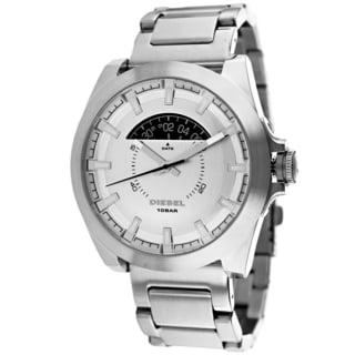 Diesel Men's DZ1662 Arges Round Silver Blacelet Watch