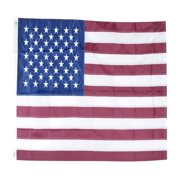 Shop INSTEN 3x5-feet American Sewn Stripes Embroidered
