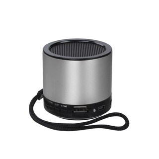 INSTEN 3-ways 3.5mm USB SD Card Mobile Speakers FM Radio With Landyard and USB Cable