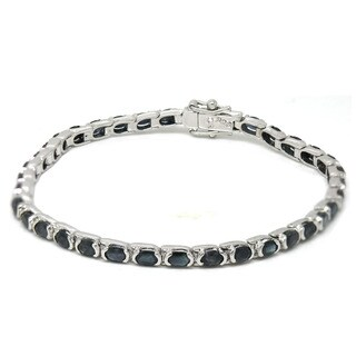 De Buman Sterling Silver Natural Sapphire Bracelet|https://ak1.ostkcdn.com/images/products/9763072/P16934248.jpg?_ostk_perf_=percv&impolicy=medium