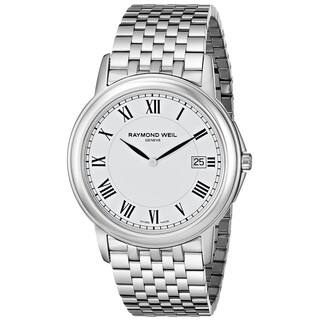 Raymond Weil Men's 5466-ST-00300 'Tradition' Stainless Steel Watch|https://ak1.ostkcdn.com/images/products/9763110/P16934268.jpg?impolicy=medium