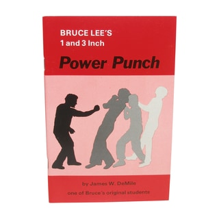 Bruce Lee 1 and 3-inch Secret Power Punch Book
