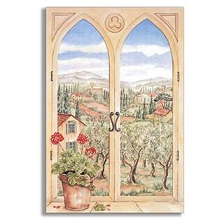 Tuscany Faux Window Scene
