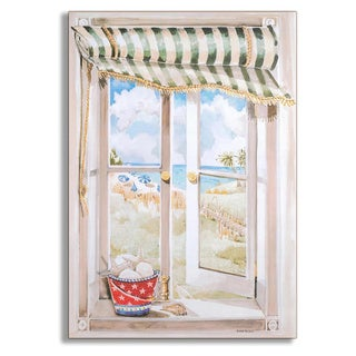 Seascape Faux Window Scene