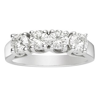 Charles & Colvard 14k White Gold 23/25ct TGW Round Forever Brilliant Moissanite Band|https://ak1.ostkcdn.com/images/products/9763648/P16934706.jpg?_ostk_perf_=percv&impolicy=medium