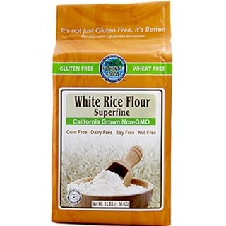 Authentic Foods Superfine White Rice Flour (2 Pack)
