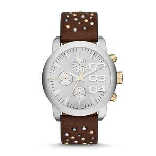 Diesel Women's DZ5433 Flare Chronograph Studded Leather Watch|https://ak1.ostkcdn.com/images/products/9763922/P16934858.jpg?impolicy=medium
