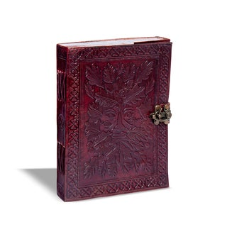 Sitara Handmade Burgundy Leather Single Latch Journal (India)
