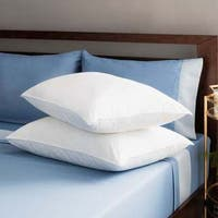Premier Down-like Personal Choice Density Pillows in Medium Size (Set of 2) (As Is Item)