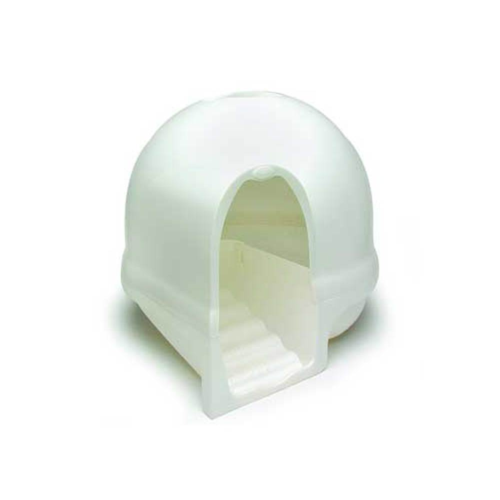 Doskocil Petmate) Booda Dome Clean Step Litter Pan (White)