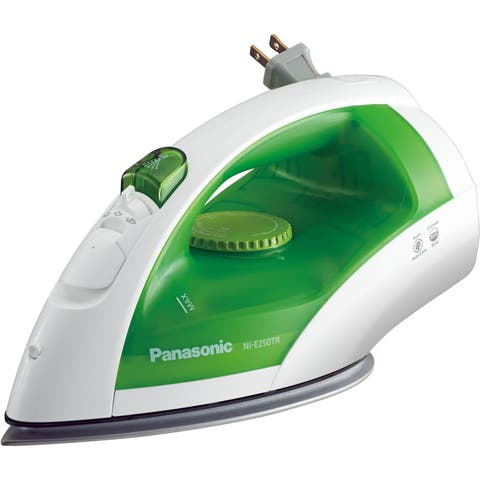 Panasonic NI-E250TR Steam Circulating Iron with Curved, Non-Stick Titanium-Finish Soleplate