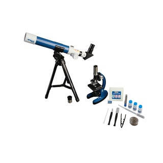 Explore One Apollo Telescope and Microscope Set with Case