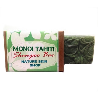 Monoi Tahiti Cold Process All Natural and No Paraben Shampoo Bar