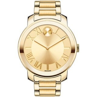 Movado Bold Women's 3600197 Ion-Plated Goldtone Stainless Steel Watch
