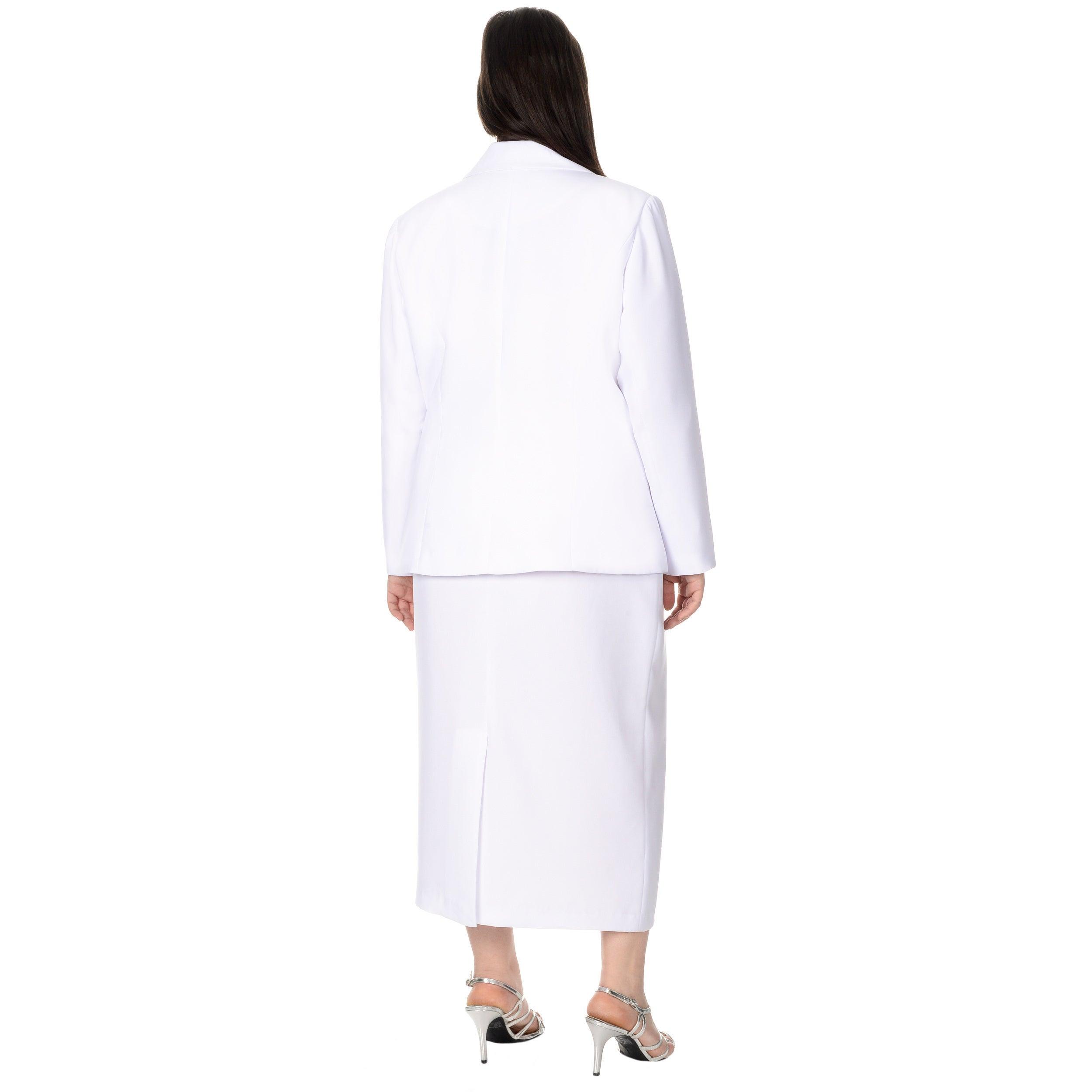 Giovanna Signature Women\'s Plus Size 2-piece Skirt Suit