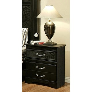 Sandberg Furniture Granada 3-drawer Nightstand
