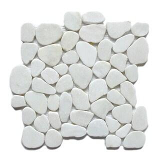 Arctic Jade Stone Mosaic Tiles (Pack of 5)