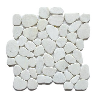 Arctic Jade Stone Mosaic Tiles (Pack of 5)