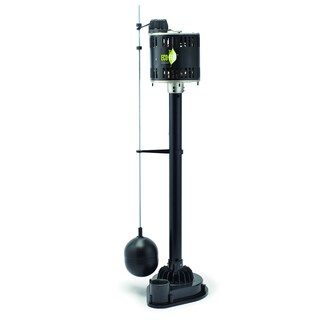 ECO FLO Products EPP33 115V 500 GPH Sump Pump