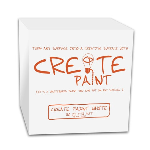 Create Paint White (Whiteboard Paint)